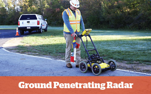 Ground penetrating Radar Missouri